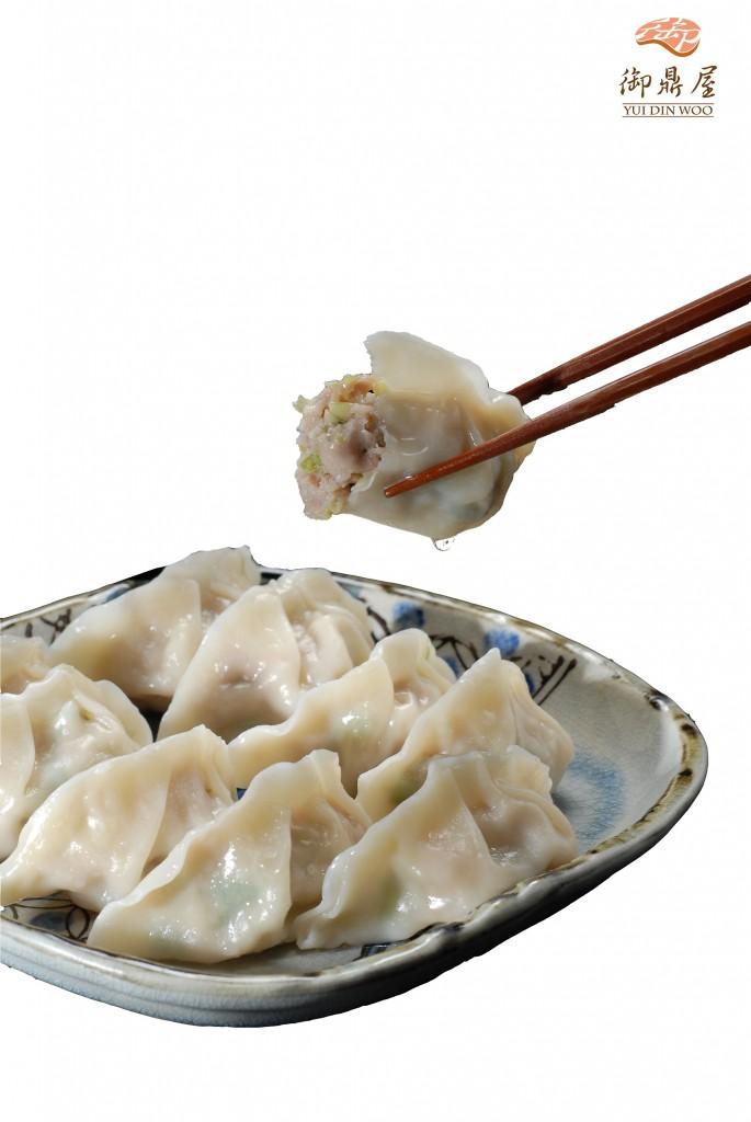 御鼎屋白韭菜水餃